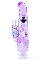 My Dual Pleasure Vibrator - purple