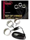 Electro Sex Aluminium Rings