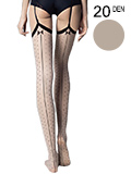 Fiore - Sheer Stockings Gossip Linen