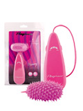 Heavy Silicone Bullet Hot Pink