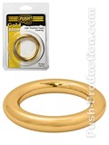 Push Gold Edition - High Polished Power Cockring, B-Ware - 55mm