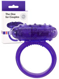 The One for Couples Cockring - Purple